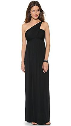 Rachel Pally Women's Twist One Shoulder Dress, Black, X-Small *** Find out more about the great product at the image link.