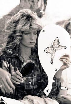 Farrah Fawcett, a Corpus Christi original! Santa Monica, Kate Jackson, Farrah Fawcett, Divas, Jaclyn Smith, Brian Atwood, Big Hair, Corpus Christi, My Idol