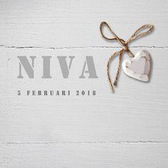 Geboortekaartje Niva