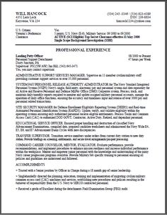 Federal Resume Example And Get Ideas Create Your With The