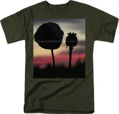 Clothing -Custom Prints on Apparel, T-Shirts, Accessories Us Images, Poppies, Exotic, Seeds, Prints, Mens Tops, T Shirt, Clothes, Spices