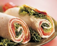 Italian Trattoria Wraps with Tre Stelle® Mozzarella Cheese #wrap #tortilla