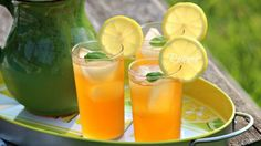 طريقة عمل ليموناضة الزنجبيل بالريحان - Delicious #lemonade #recipe