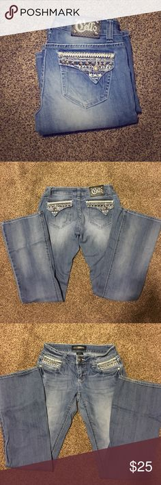"""Cello Jeans! Brand new jeans never worn!! They don't fit me that's why I'm getting rid of them! Inseam 34"""" Cello Jeans Boot Cut"""