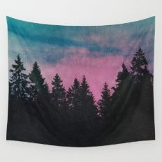 Wall Tapestry featuring Breathe This Air by Tordis Kayma