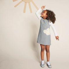 robe nuage tricot enfant * patron + tuto gratuit sur MC Idées