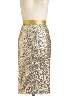 Sequin and Shine Skirt | Mod Retro Vintage Skirts | ModCloth.com