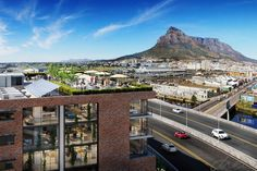 drew architects | new commercial building - cape town | render