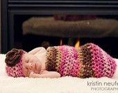 PRetty! Girl Baby cocoon set