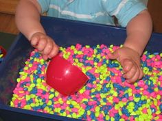 Gravel Play from Pre-School Play