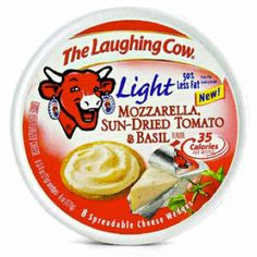 ... Cheese: The Laughing Cow Light Mozzarella, Sun-Dried Tomato & Basil