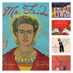 Books with Latino/a characters for children #latina