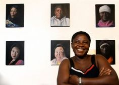 Refugee women tell their stories in words and portraits