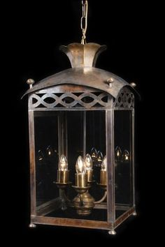 Asprey Regency Lantern 4 Lights