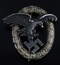 Buy online, view images and see past prices for WWII GERMAN THIRD REICH LUFTWAFFE OBSERVER BADGE. Invaluable is the world's largest marketplace for art, antiques, and collectibles.
