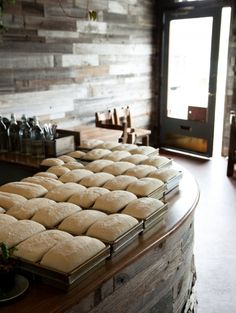loaves of bread @outerlands in in the outer sunset, san francisco. one of my go-dinner spots for a delicious + cozy dinner