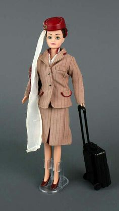 Flight Attendant Doll Emirates Cabin Crew Doll Brunette New in Package Emirates A380, Emirates Flights, Emirates Airline, Emirates Cabin Crew, Airline Cabin Crew, Best Airlines, Embroidered Towels, Princess Cruises, Flight Attendant