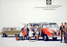 Cool & Sweet Vintage Volkswagen Ads