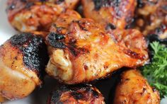 Spicy Korean Grilled Chicken Fire up the barbie! This Spicy Korean Grilled Chicken recipe is delicio Perfect Grilled Chicken, Grilled Chicken Recipes, Spicy Recipes, Grilling Recipes, Asian Recipes, Cooking Recipes, Ethnic Recipes, Vegetarian Grilling, Healthy Grilling