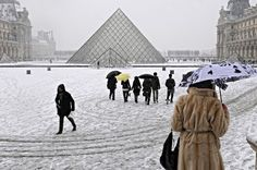 Paris, Louvre Pyramide