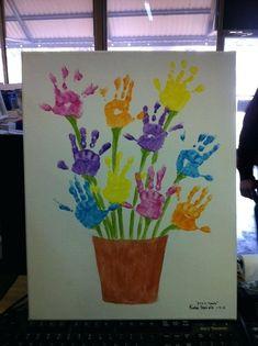 Handprint Flower Pot Art…a fun Mother's Day Gift! Handprint Flower Pot Art…a fun Mother's Day Gift! Daycare Crafts, Easter Crafts For Kids, Crafts To Do, Preschool Crafts, Flower Craft Preschool, Spring Toddler Crafts, Kindergarten Crafts, Spring Crafts For Preschoolers, Crafts For Children