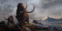 Prehistoric Mammals Woolly Mammoths by Balcsika on DeviantArt
