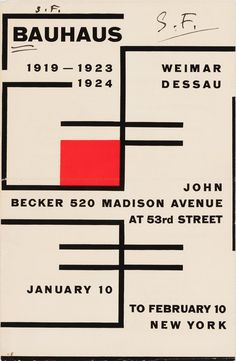 Lincoln Kirstein Bauhaus: Weimar, 1924 Dessau Exhibition Brochure, John Becker Gallery, New York, January 1931 Walter Gropius, Graphic Design Tips, Layout Design, Design Bauhaus, Bauhaus Style, Magazine Design, Type Posters, Design Posters, Grafik Design