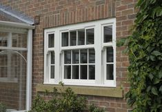 Replacement Sash Windows from Clearview in Cheshire & Lancashire featuring the very best Double Glazing energy savings. View our Sash Window styles online. Sash Windows London, Upvc Sash Windows, Windows And Doors, Georgian Windows, Victorian Windows, Window Cost, Bay Window, Sash Window Repair, Contemporary Windows