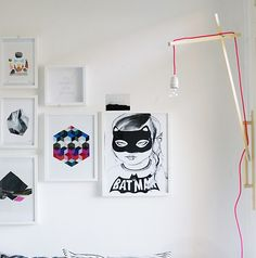 premier reg'art: LAMPE DENUDEE FLUO - DIY -