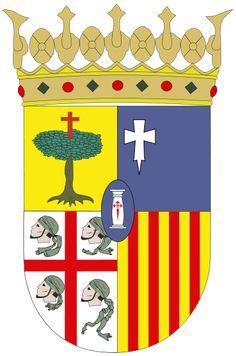 Escudo d'a probinzia de Zaragoza.svg