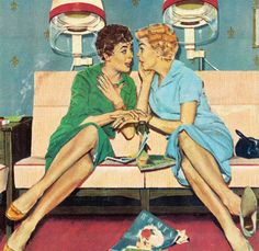 Image uploaded by Vintage. Find images and videos about vintage and retro on We Heart It - the app to get lost in what you love. Images Vintage, Vintage Pictures, Vintage Advertisements, Vintage Ads, Vintage Humor, Vintage Prints, Vintage Hair Salons, Pinup, Vintage Housewife