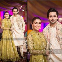 Beautiful Clicks of Celebrities at the Aineeb Mehndi Wedding Album, Wedding Shoot, Wedding Outfits, Aiza Khan Wedding, Wedding Mehndi, Ayeza Khan, Pakistani Actress, Celebs, Celebrities