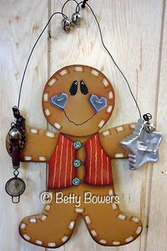 The Decorative Painting Store: Gingerbread Baker e-Pattern DOWNLOAD, Gingerbread