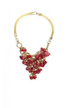 https://www.cityblis.com/2069/item/13489 | Necklace Split red - $165 by Private Suite by Pegah Ghaemi |  | #Necklaces