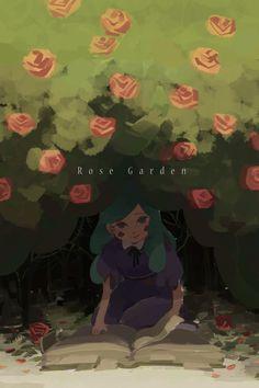 """Rose garden  """"Hey,sweetie.""""  tweet"""