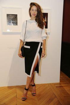 Emily DiDonato en Balmain | Vogue