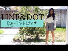 Day-To-Night Line & Dot Outfits ♡  http://youtu.be/kZgEZ5weBCM