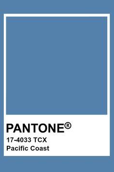 Pantone Pacific Coast