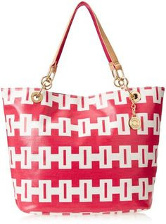 a55cc4a14641 Tommy Hilfiger TH Signature Reversible Zooey Print Shoulder Bag
