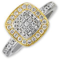 Frederic Sage Pavé Diamond Ring