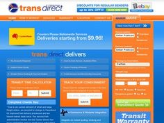 Trans Direct - Nationwide Door to Door Courier Services & Parcel Delivery. Fast, Efficient & Economical with Warranty on All Services. Get a Quick Quote Online!