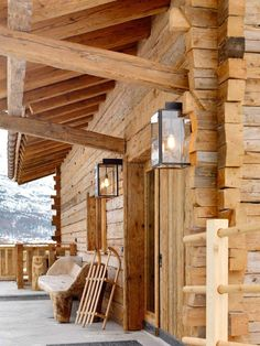 Log cabin, Swizz style. in Zermatt, Switzerland Repinned by www.gorara.com