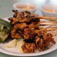 Pork Satay @ Old Punggol Satay
