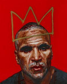 Abdul Abdullah: The man :: Archibald Prize 2013 :: Art Gallery NSW portrait of Anthony Mundine