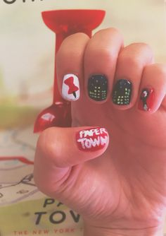 Paper Towns Nails