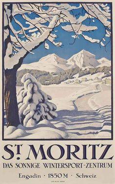 St. Moritz - Switzerland Colombi, Plinio (1873-1951)