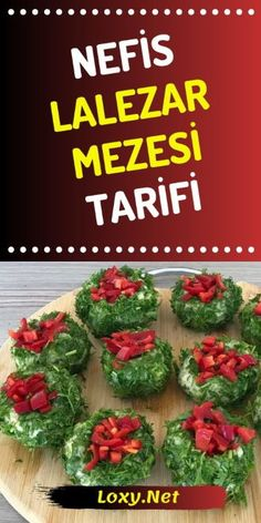 How to Make a Delicious Meze Recipe Lalezar Mezesi? Meze Recipes, Cooking Recipes, Yummy Appetizers, Appetizer Recipes, Homemade Beauty Products, Fish Dishes, Recipe Today, Food And Drink, Herbs