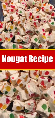Christmas is coming, it cannot be denied, so get into the spirit by baking this delicious almond nougat – then keep them for your guests or package them up as food gifts that everyone will Holiday Desserts, Holiday Baking, Holiday Recipes, Holiday Foods, Christmas Recipes, Christmas Ideas, Christmas Crafts, Christmas Decorations, Fudge Recipes