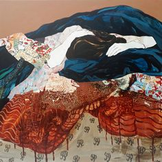 Florence Dussuyer – INAG | I Need A Guide | #art #painting