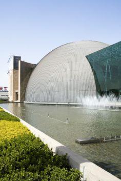 Tianshili Headquarter - office, Tianjing (China) by Tianjing Institute of Architecture & Design   #architecture #China #Asia #zinc #VMZINC #roofing #QuartzZincPlus